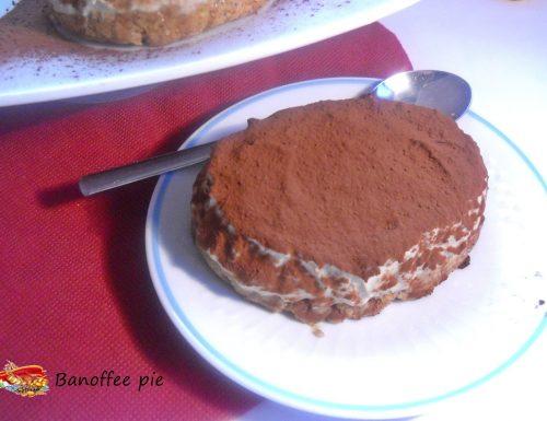 Banoffee pie al the verde matcha