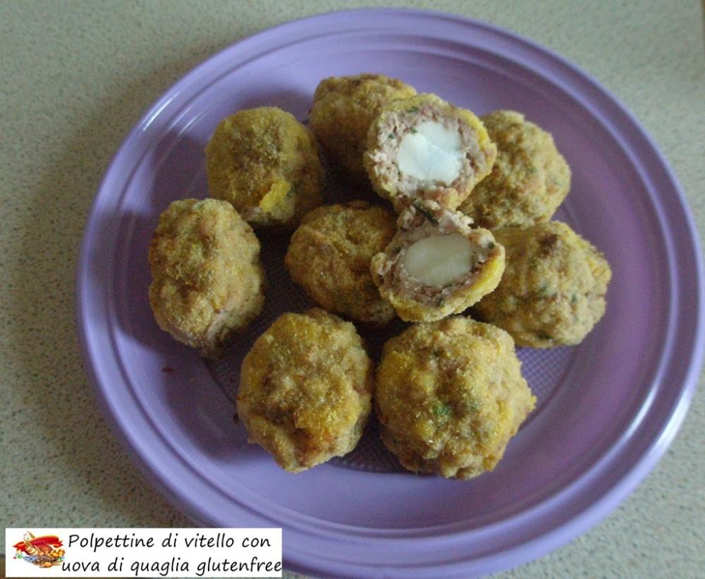 polpettine di vitello con uova di quaglia gluten free