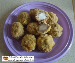 Polpettine di vitello con uova di quaglia gluten free.6