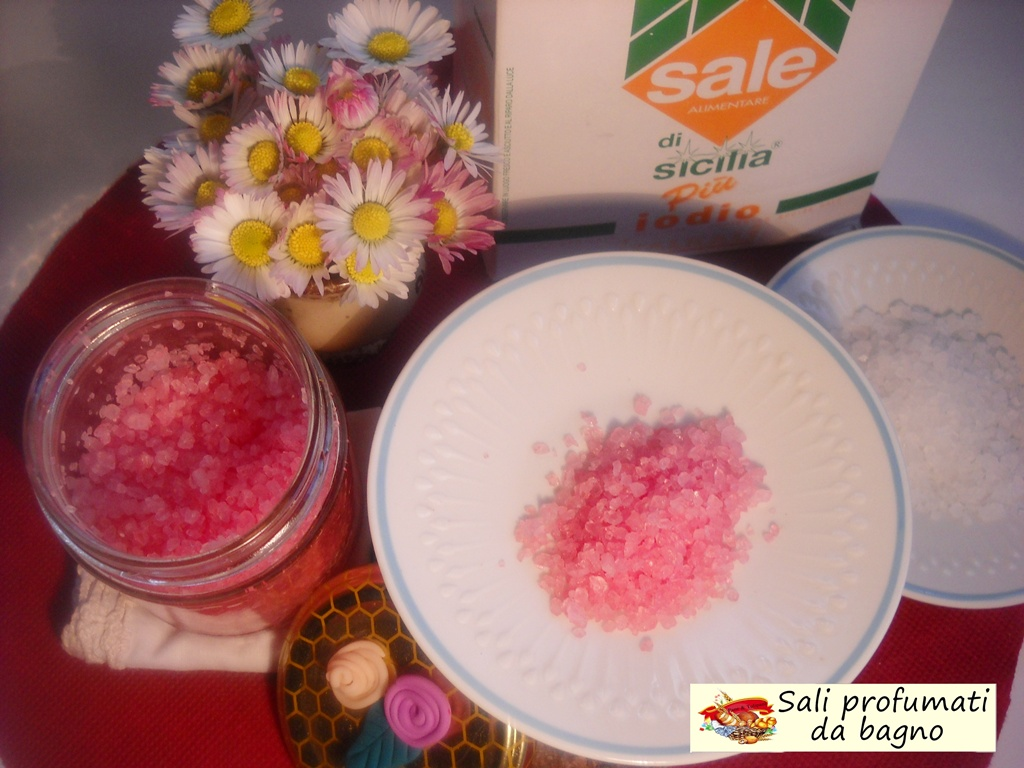 Ricetta Sali Da Bagno Profumati : Sali profumati da bagno pane tulipani
