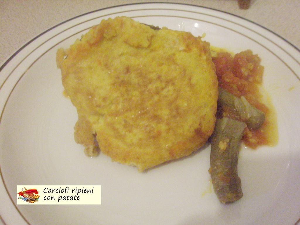 carciofi ripieni con patate