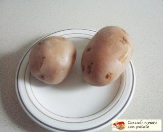 Carciofi ripieni con patate.4
