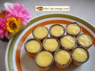Mini cup orange curd.6