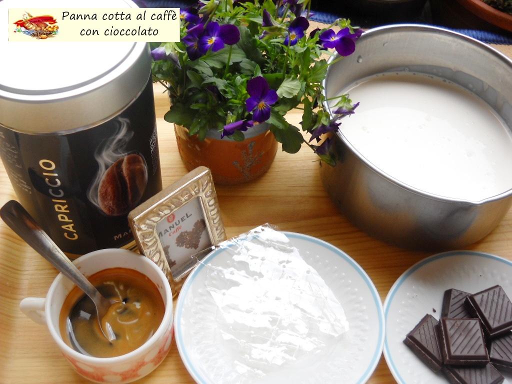 Panna cotta al caff con cioccolato pane tulipani - Diversi tipi di caffe ...