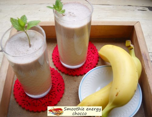 Smoothie energy chocco