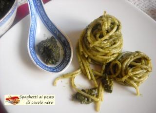 Spaghetti al pesto di cavolo nero.12