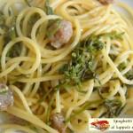 Spaghetti saporiti al luppolo e carciofo
