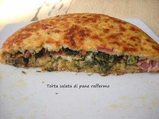 Torta salata di pane raffermo.101