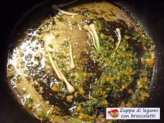 Zuppa di legumi con broccoletti.3