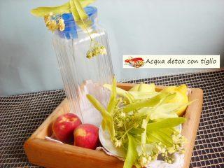 Acqua detox con tiglio.3