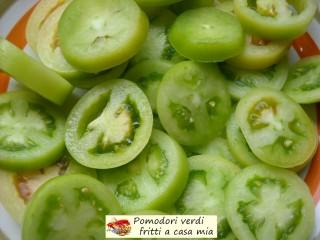 Pomodori verdi fritti a casa mia.3