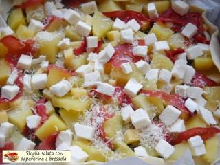 Sfoglia salata con papaverina e bresaola.5