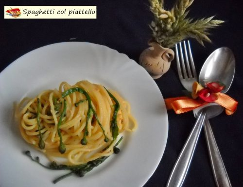 Spaghetti col piattello