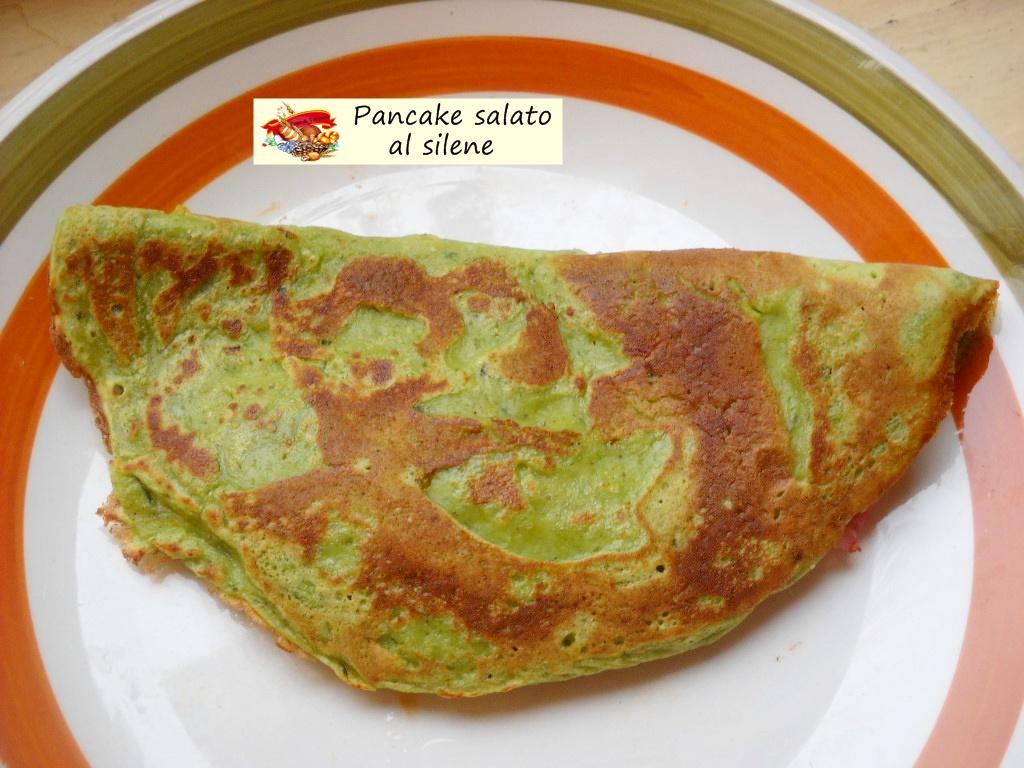 pancake salato al silene