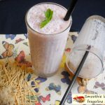 Smoothie lamponi e fragoline di bosco