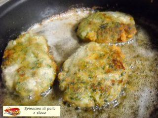 Spinacine di pollo e silene.8