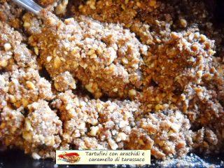 Tartufini con arachidi e caramello di tarassaco.5