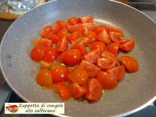 Zuppetta di vongole allo zafferano.3