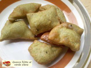 Gnocco fritto al verde silene. La ricetta.