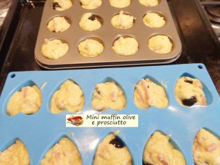 Mini muffin olive e prosciutto.7