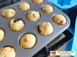 Mini muffin olive e prosciutto.8