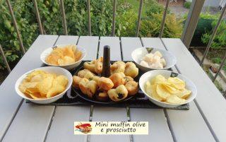 Mini muffin olive e prosciutto.9