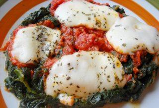 Parmigiana di spinaci