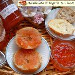 Marmellata di anguria con bucce