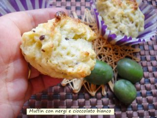 Muffin ai nergi e cioccolato bianco-2