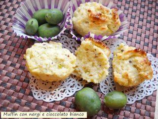 Muffin ai nergi e cioccolato bianco-3
