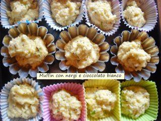Muffin con nergi cioccolato bianco.4