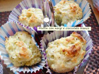 Muffin con nergi cioccolato bianco.5