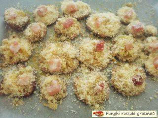 Funghi russule gratinati.4