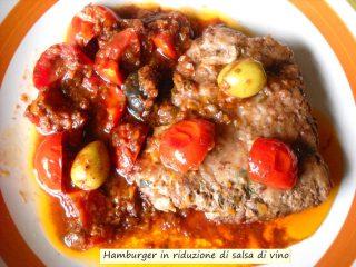 Hamburger in riduzione di salsa di vino.2.JPG