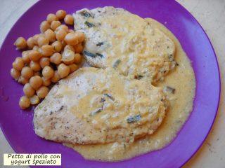 Petto di pollo con yogurt speziato.2