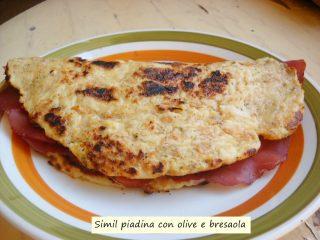 simil piadina con olive e bresaola.8