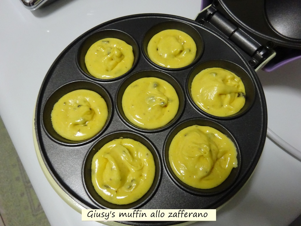 Giusy's muffin allo zafferano
