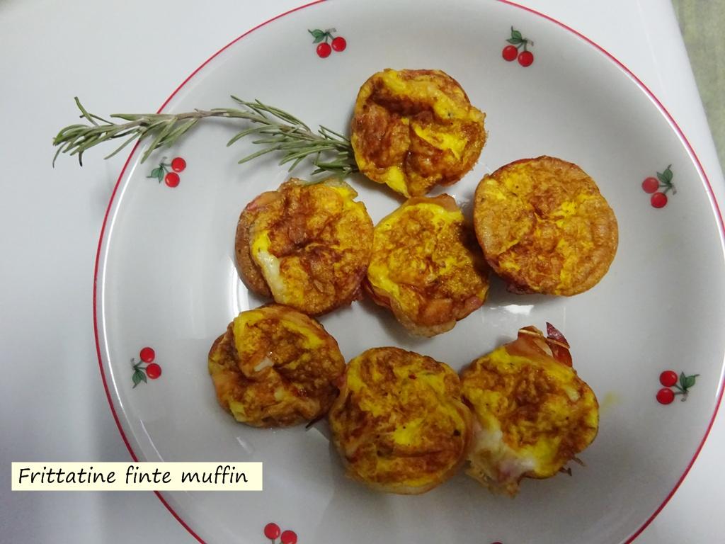 frittatine finte muffin