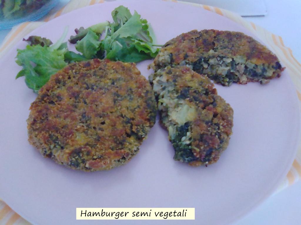 hamburger semi vegetali