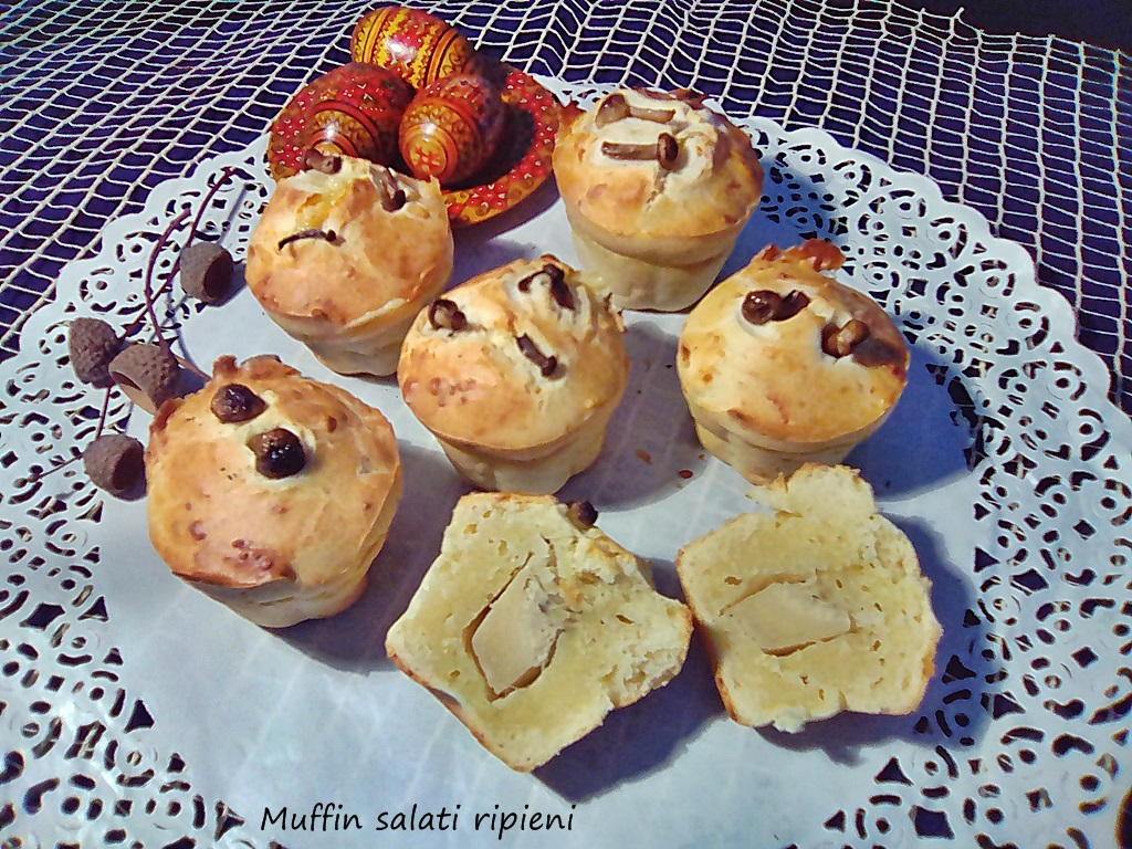 muffin salati ripieni