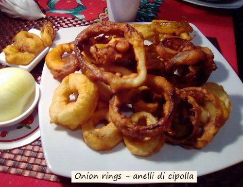 Onion rings, anelli di cipolla