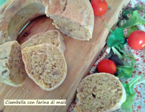 Ciambella con farina di mais
