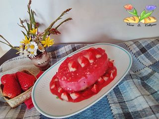 cheesecake alla fragole gluten free senza lattosio