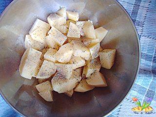 fegatini di pollo con patate