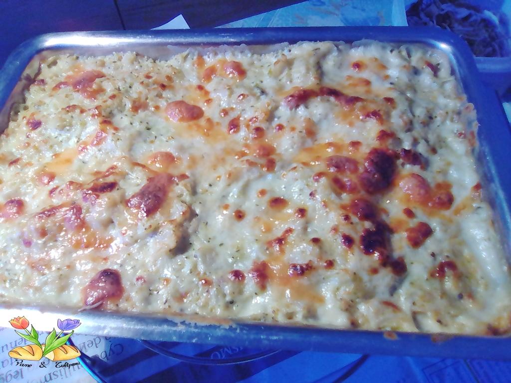 lasagne con broccoletti e cavolfiori