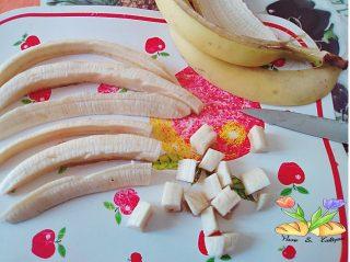 tartare di fragole e banane al limoncello con gelato