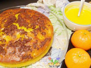 Torta di arance e ricotta