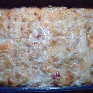 lasagne con verza e guanciale