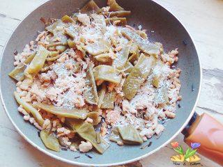 padellata di taccole con spezie