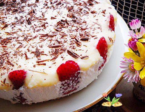 Torta fragolosa. Golosa bontà.